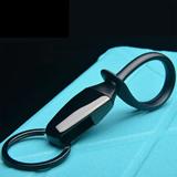 男士钥匙链汽车钥匙扣 时尚创意简约风格 市场促销礼品