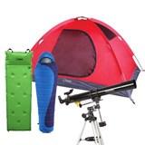 思凯乐户外伴侣星特朗PowerSeeker天文望远镜+玫瑰之约III—2人双层野营帐篷+鸳鸯点式带枕