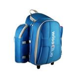 维仕蓝风情瑞士四人拉杆野餐包 创意设计 户外必备