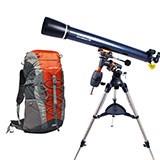星特朗-天文望远镜AM90EQ+登山包WB1022(远行伴侣)户外礼品