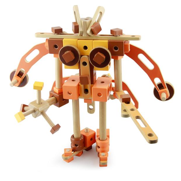 古代机械mmbl13006 益智拼装木制玩具